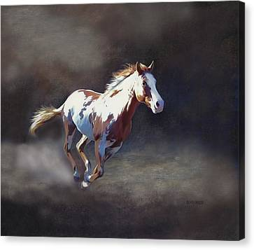 Annie Bonanza Canvas Print by Barbara Hymer