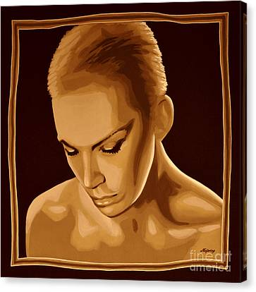Annie Lennox Canvas Print by Meijering Manupix