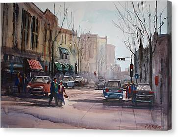 Another Day In Fond Du Lac Canvas Print by Ryan Radke