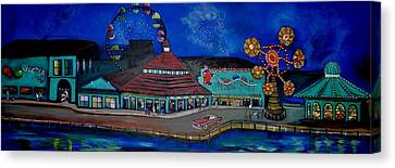 Another Memory Of The Palace Canvas Print by Patricia Arroyo