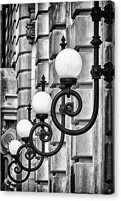 Ansonia Building Detail 20 Canvas Print by Val Black Russian Tourchin