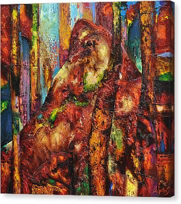 Anthill Canvas Print by Sergey Ignatenko