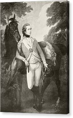 Anthony St Leger, 1731 32 To 1786 Canvas Print by Vintage Design Pics
