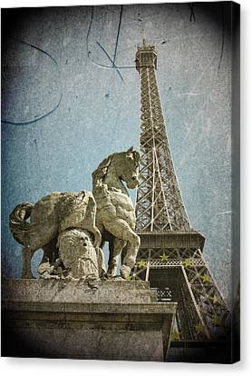 Antiquation Canvas Print by Andrew Paranavitana