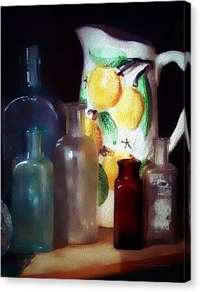 Antiques Canvas Print by Christine Belanger