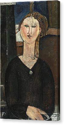 Antonia Canvas Print by Amedeo Modigliani