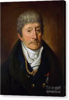 Antonio Salieri, Italian Composer Canvas Print by Science Source