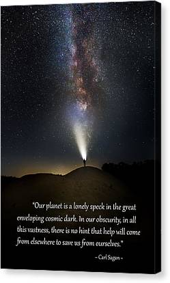 Anybody Out There Canvas Print by Bill Wakeley