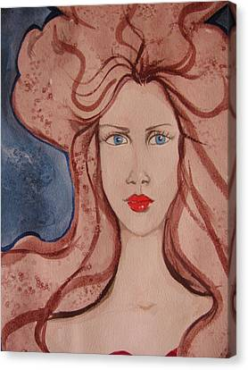 Aphrodite Canvas Print by Lindie Racz
