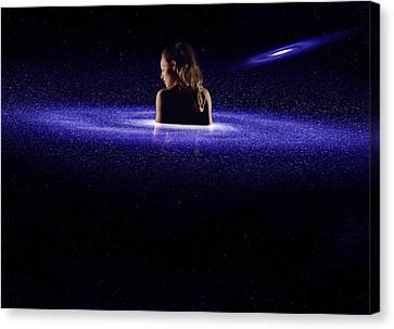 Aphrodite Spiral Galaxy Canvas Print by Pelo Blanco Photo