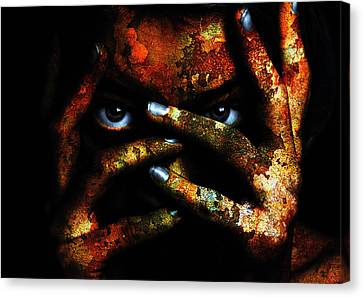 Apocalyptic Skin Canvas Print by Marian Voicu