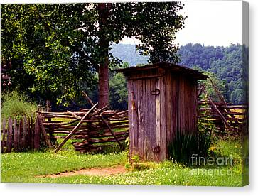Appalachian Hill-ton Canvas Print by Paul W Faust -  Impressions of Light