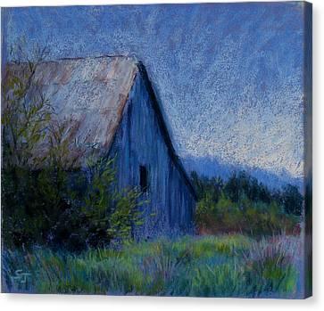 Appalachian Morning Canvas Print by Susan Jenkins