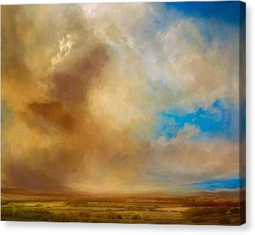 Apple Valley Canvas Print by Lonnie Christopher