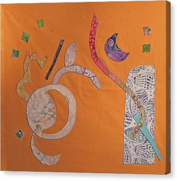 Applique 2 Canvas Print by Eileen Hale