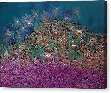 Aquarius Painting Canvas Print by Don  Wright