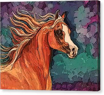 Arabian Mare Canvas Print by Leni Tarleton