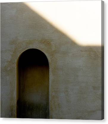 Arch In Shadow Canvas Print by Dave Bowman