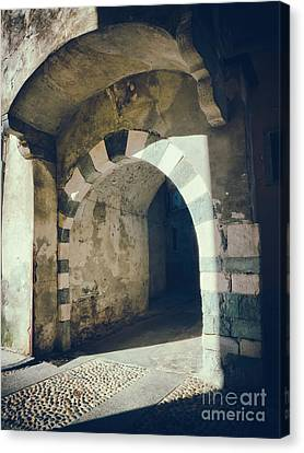 Arched Passage Canvas Print by Silvia Ganora