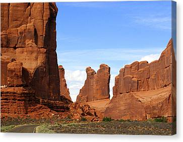 Arches Park 2 Canvas Print by Marty Koch