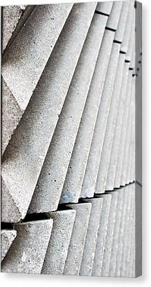 Architecture Close Up Canvas Print by Tom Gowanlock