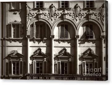 Architecture Of Lucca Canvas Print by Prints of Italy