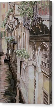 architetture di  Venezia Canvas Print by Guido Borelli
