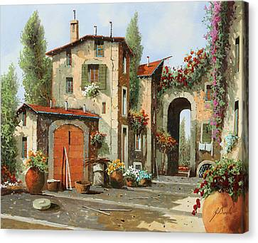 Arco Finale Canvas Print by Guido Borelli