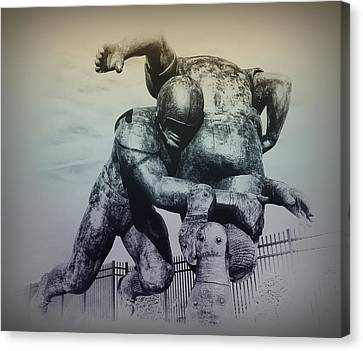 Are You Ready For Some Football Canvas Print by Bill Cannon