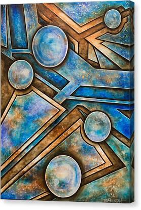 Arena Canvas Print by Tripp Doogan