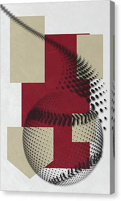 Arizona Diamondbacks Art Canvas Print by Joe Hamilton