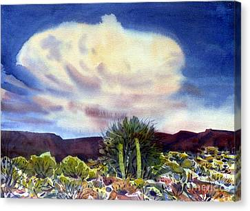 Arizona Thunderhead Canvas Print by Donald Maier