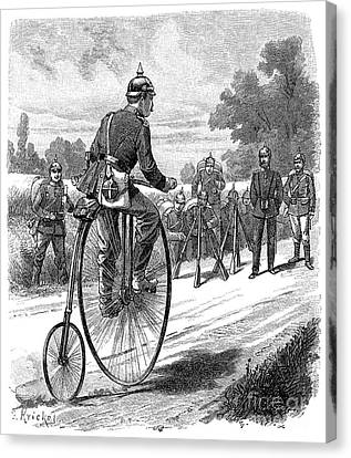 Army Messenger, 1890s Canvas Print by Granger