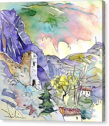 Arnedillo In La Rioja Spain 03 Canvas Print by Miki De Goodaboom