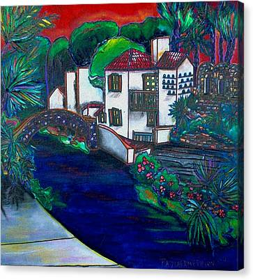 Arneson Theater Canvas Print by Patti Schermerhorn