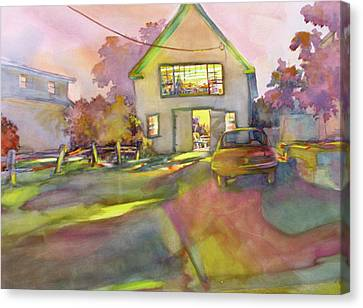 Art Barn, Point Clyde No. 4 Canvas Print by Virgil Carter
