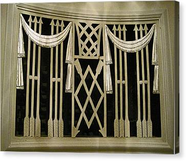 Art Deco Grate 2 Canvas Print by Michael Durst