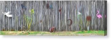De Fence Canvas Print by Tim Coleman