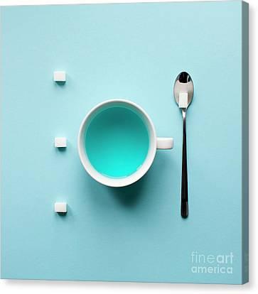 Art Kitchen Canvas Print by Andrey A