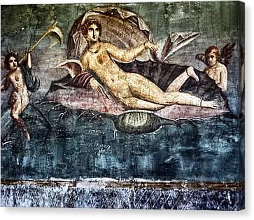 Art Of Pompei Canvas Print by Joachim G Pinkawa