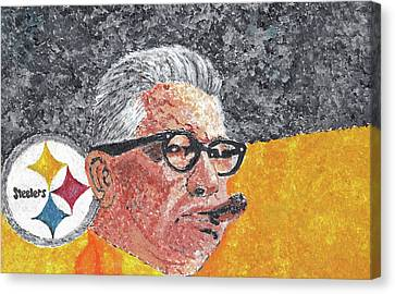 Art Rooney Canvas Print by William Bowers