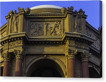 Artful Palace Of Fine Arts Canvas Print by Garry Gay
