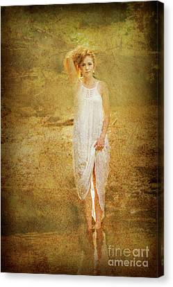 Artistic Look At Patty Canvas Print by Dan Friend