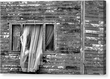 As If A Ghost Canvas Print by Jeff Swan