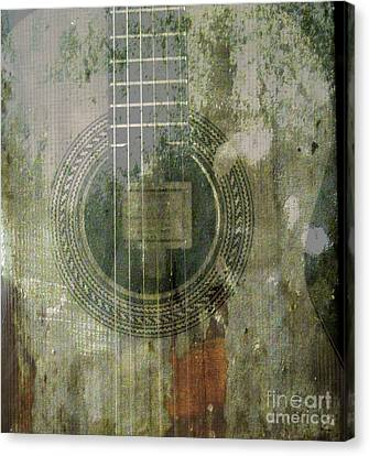 As In The Classical Measure Of Time Canvas Print by Steven  Digman