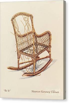 As Is Canvas Print by Maureen Tillman