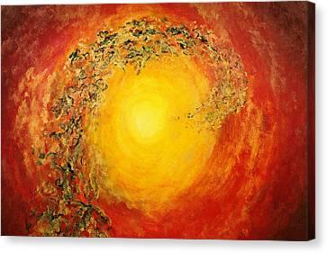 Ascending Light Canvas Print by Tara Thelen - Printscapes