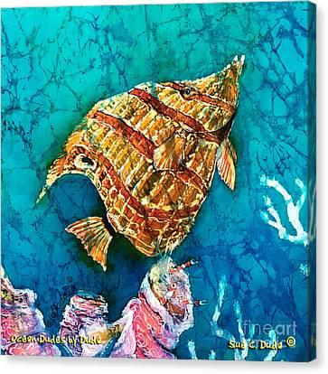 Ascending Canvas Print by Sue Duda