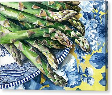 Asparagus Canvas Print by Nadi Spencer