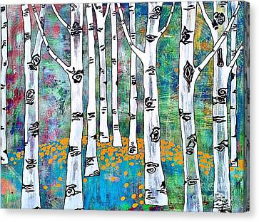Aspen Bright Canvas Print by Amy Sorrell